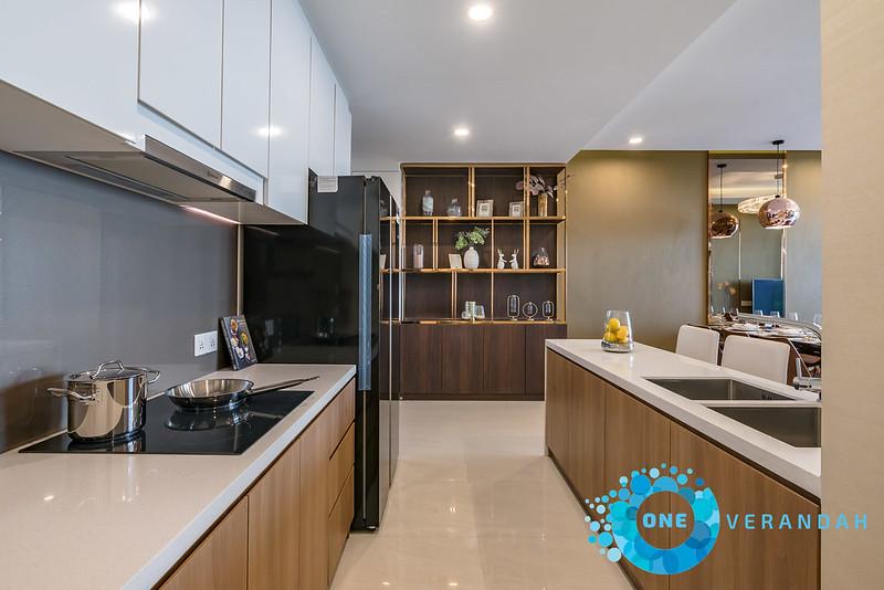 Nhà mẫu căn hộ 3 phòng ngủ One Verandah quận 2
