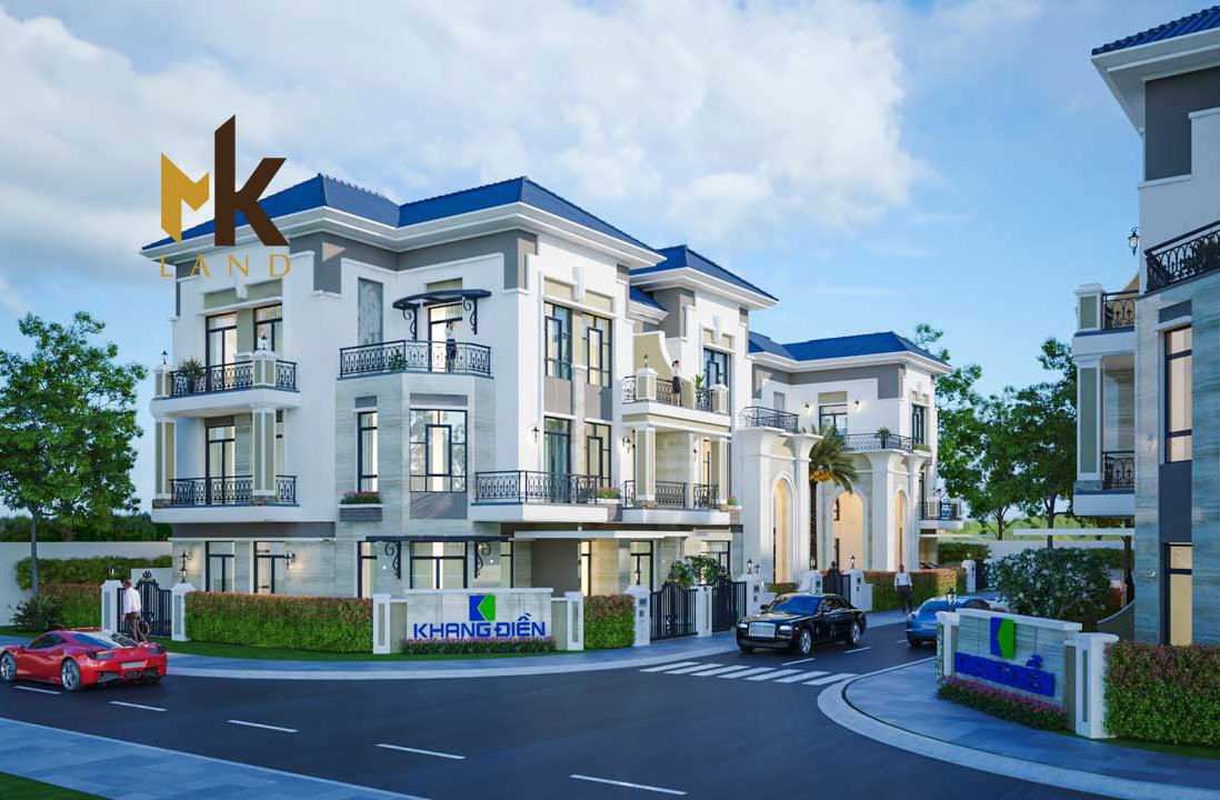 Phối cảnh tổng quan dự án Verosa Park Khang Điền quận 9