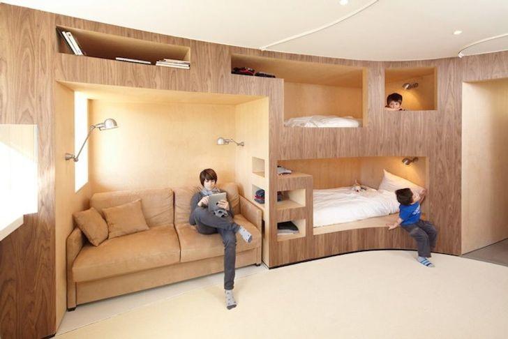 Nếu bạn đang tìm kiếm một cách để tích hợp đồ nội thất vào nhà của bạn, hãy tham khảo cách thiết kế này.