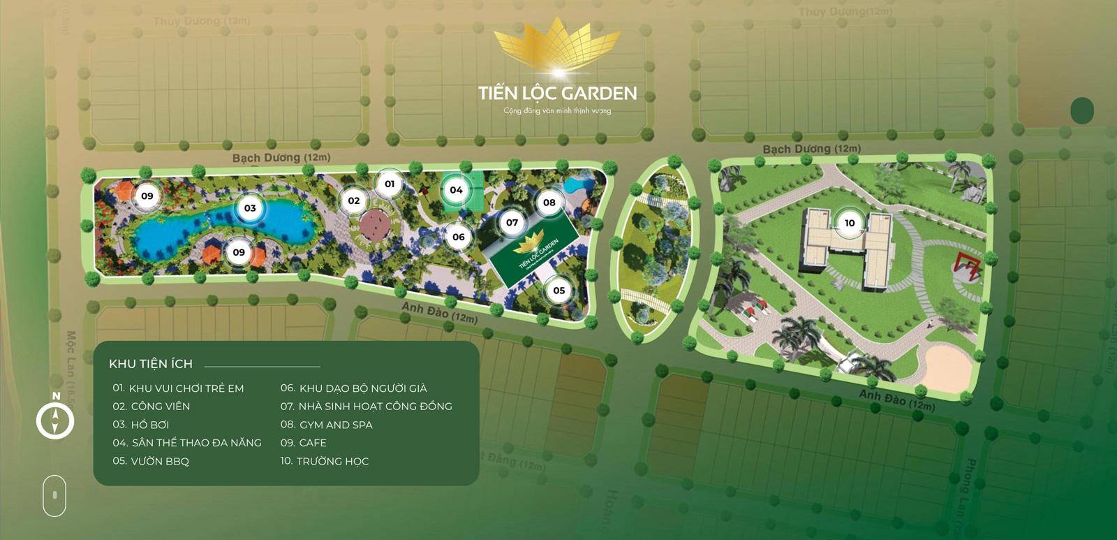 Khu dân cư Tiến Lộc Garden Nhơn Trạch Đồng Nai