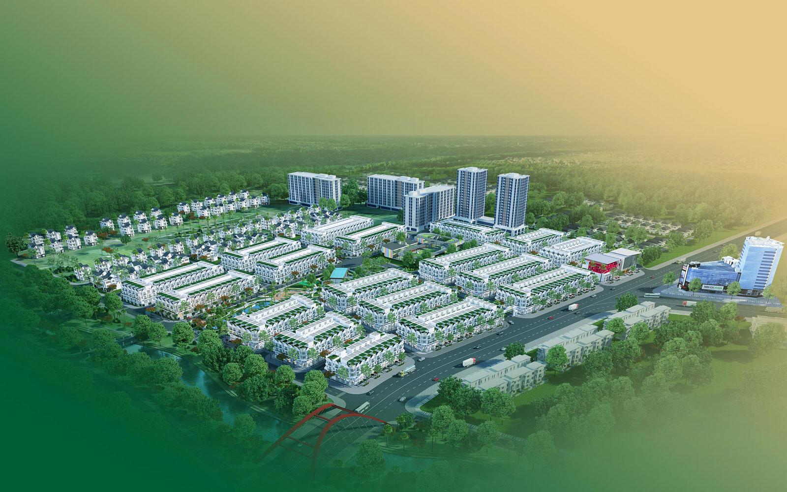 Tổng thể dự án Tiến Lộc Garden