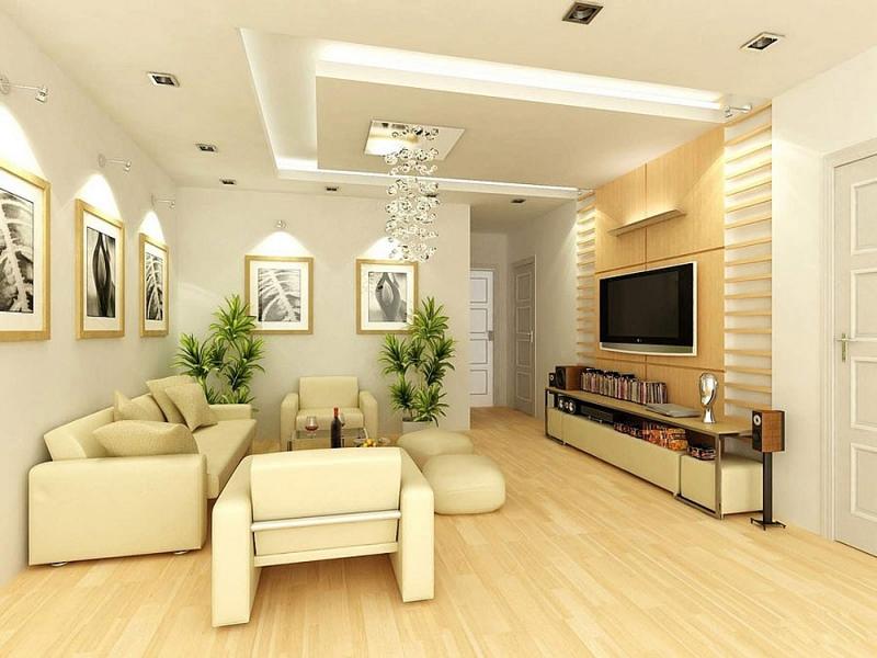 Cách phối màu nội thất phòng khách đẹp, sang trọng