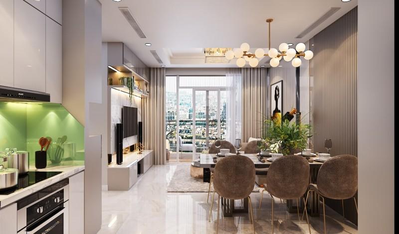 Cho thuê căn hộ One Verandah 2 phòng ngủ 81 m2