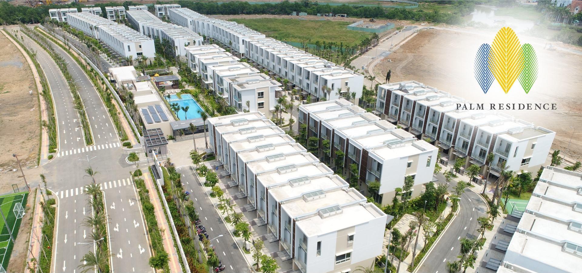 Bán Nhà Phố & Biệt Thự Palm Residence Kepple Land